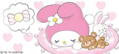 Cute Smile - Sanrio Animated Gifs: My Melody:)