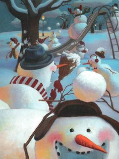 Snowmen at Night 13