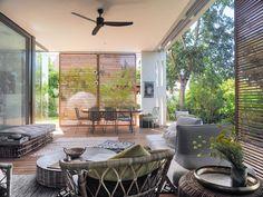 Add to 'My Inspirations' Indoor Outdoor, Outdoor Decor, Balcony Design, Modern Industrial, House Plans, Modern Design, New Homes, House Design, Patio