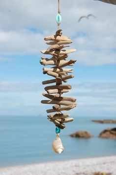 Driftwood Mobile by PlanBee123 on Etsy, £17.00