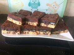 Kekszes brownie Oreo, Chips, Desserts, Food, Deserts, Potato Chip, Dessert, Meals, Potato Chips