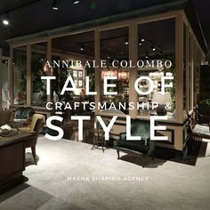 Read our new blog post, a tale about Annibale Colombo, where it started, what its philosophy is and what it's contributing to contemporary design. Link in bio 🔝🔝 #luxurylife #italianstyle