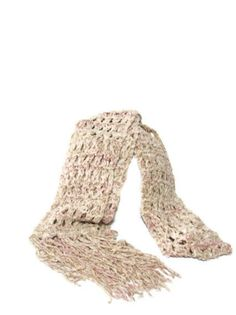 Autumn Rose Hand Knit Scarf  Pink by ArlenesBoutique on Etsy, $35.00