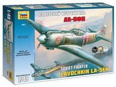 Zvezda 4801 Soviet fighter La-5FN