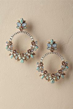 Earrings Studs Posie Circlet Earrings from Indian Bridal Jewelry Sets, Indian Jewelry Earrings, Jewelry Design Earrings, Gold Earrings Designs, Ear Jewelry, Jewelry Accessories, Body Jewelry, Stud Earrings, Bridal Accessories