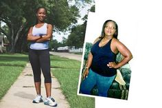 "Dana Pittman    Home Houston, TX  Age 30  Height 5'2""  Job Business owner  Weight before 196  Weight after 135… we are all on some sort of journey, Here's mine- www.facebook.com/MMorrisFitness"