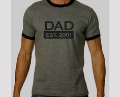 Dad T-Shirt - Pair it with a Mom t-shirt and you have a good announcement photo.