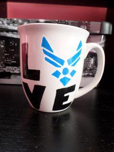 Love Air Force coffee mug