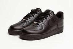 Nike Air Force 1 'Black on Black'