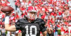 Jacob Eason looks ready to be UGA's starter at quarterback = Right now it appears there's a 50-50 chance that the Georgia Bulldogs will roll with true freshman Jacob Eason at quarterback to start the season against North Carolina in the Chick-fil-a Kickoff game.  There have been reports that.....