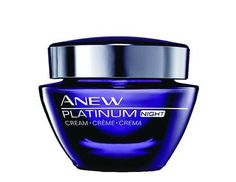 Best Night Cream - Avon ANEW Platinum Night Cream ($38; avon.com)     Why it won: It's never too early to protect against sagging. This rich formula for the face and neck contains skin-tightening proteins that work while you rest; glycolic acid helps improve texture and tone.    Shape - 2011  I AM your Avon rep @ youravon.com/cfultano  Locals: mamacurl17@yahoo.com Or via fb