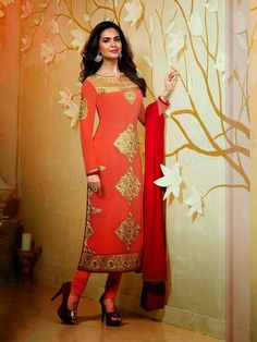 Ekta Gupta Party Wear Suits For Girls 2015 | Salwar Kameez For Autumn And Winter By Natasha Couture