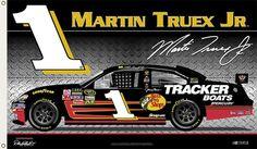 Martin Truex Jr. TRUEX NATION Giant 3'x5' NASCAR Flag - available at www.sportsposterwarehouse.com Nascar Flags, Tracker Boats, Martin Truex Jr, Bass Boat, Dale Earnhardt, Nascar Racing, Animal Wallpaper, Chevrolet Impala, New Jersey