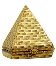 Egyptian Pyramid Limoges Box