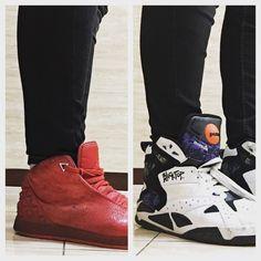 Nike Jordan Instigator vs Reebok Blacktop