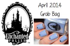 This grab bag includes 1 brand new Enchanted Polish April 2014 in original box, 3 full-sized indie polishes, and 4 mini-sized indie polishes.