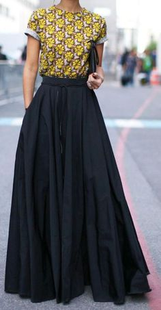 8db91a97e641e The top 7 Long skirts for women images | Long skirts for women ...
