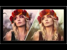 How To Use Complimentary Colors In Photoshop - Enhance Your Photo - YouTube