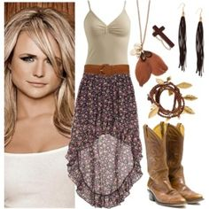 """""""Hangin' 'round a bar... my days off ain't much different than when I'm workin'."""" by hillybillybelle on Polyvore ♡ Summer Country Fun @TumbleRoot"""
