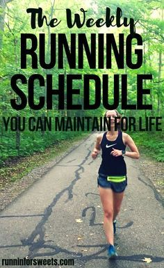 This running schedule has changed my life and better me a better runner. Since adopting this running schedule with lower mileage I have become a faster runner, increased my fitness, and changed my thoughts on running. Running has never felt better! Running For Beginners, How To Start Running, Running Tips, How To Run Faster, Running Training Programs, Running For Fitness, Race Training, Trail Running, Running Women