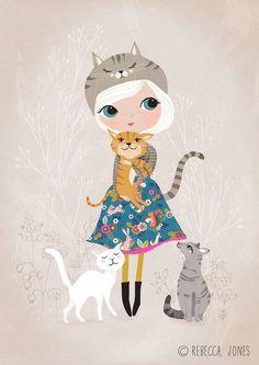 chica gato