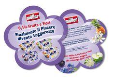 Muller: folder for trade marketing. Concept and artwork