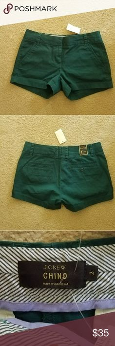 J Crew Factory Dark Teal Chino Short Size 2 NWT J Crew Factory Dark Teal Chino Short Size 2 NWT 8596966306 J. Crew Factory Shorts