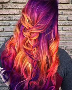 61 ideas hair color highlights stylists for 2019 - hair - Hair Styles Bold Hair Color, Cute Hair Colors, Pretty Hair Color, Beautiful Hair Color, Hair Dye Colors, Hair Color Highlights, Unique Hair Color, Exotic Hair Color, Awesome Hair Color