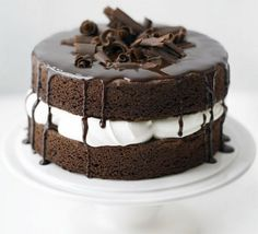 easy chocolate cake   Top Cake Ideas   for Wedding   for Birthday ...
