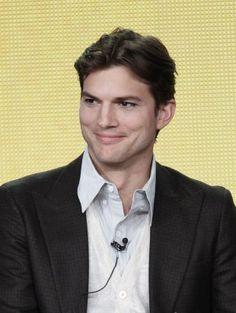 Ashton Kutcher - he's so handsome
