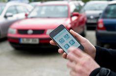 Wie das Smartphone bei der Parkplatzsuche helfen kann