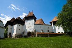 Bucharest Small-Group Tour to Dracula's Castle, Rasnov Fortress, Peles Castle, Sighisoara and Viscri Village with Overnight in Brasov in Romania Europe Beautiful Places To Visit, Places To See, Dracula Castle, Visit Romania, Small Group Tours, Medieval Town, Bali, Architecture, World