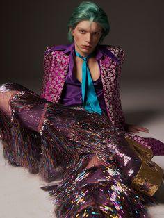 Image Fashion, 70s Fashion, High Fashion, Rock Fashion, Lolita Fashion, Fashion Boots, Fashion Dresses, Kasimir Und Karoline, 70s Glam Rock