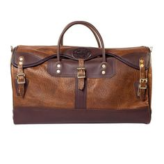 Duluth Pack Bison Leather Sportsman's Duffel