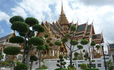 """The Royal Palace in Bangkok, Thailand."""