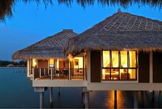 Overwater Bungalow Family Villa | 30 Marvelously Beautiful Airbnbs Around the World