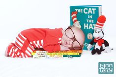 Jamieson's photoshoot for Dr Seuss's birthday