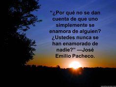 De José Emilio Pacheco