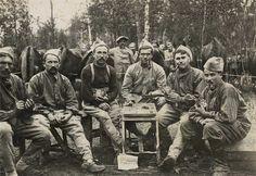 French troops (MF). WW I