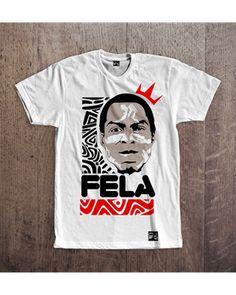 FELA CUSTOM TSHIRT - ₦7,000 Fela Kuti, African Fashion, Selfie, Cartoon, Mom, Tees, Mens Tops, T Shirt, Clothes