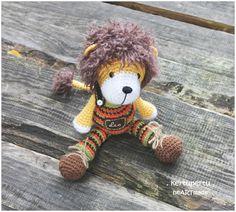 kertupertu. crochet. amigurumi. lion