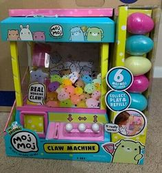 Little Girl Toys, Toys For Girls, Kids Toys, Cool Fidget Toys, Cool Toys, Toy Claw Machine, Summer Preschool Activities, American Girl Doll Sets, Minnie Mouse Toys