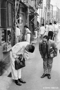 = ภาพขาวดำ..ญี่ปุ่น..โตเกียว..และผู้คนเมื่อครั้งกระโน้น (ค.ศ.1958 / พ.ศ.2501) =