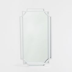 White mirror with an irregular double frame - FRAMES - DECORATION - New Collection | Zara Home United States of America
