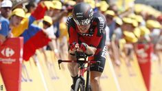 Rohan Dennis rode the fastest Tour de France time trial and won stage 1.