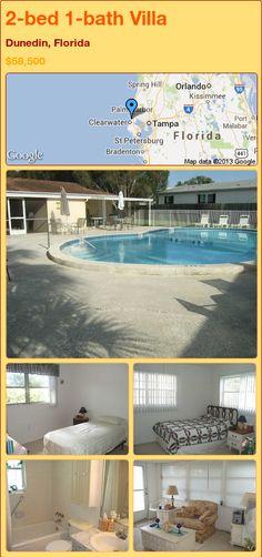 2-bed 1-bath Villa in Dunedin, Florida ►$58,500 #PropertyForSale #RealEstate #Florida http://florida-magic.com/properties/24126-villa-for-sale-in-dunedin-florida-with-2-bedroom-1-bathroom