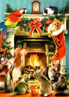 Christmas Card Warmth of Christmas