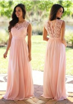Elegant Coral Mint Bridesmaid Dresses Lace Appliqued Wedding Guest Dress Sheer Back Zipper Sweep Train Chiffon Cheap Formal Blush Pink Bridesmaid Dresses, Prom Dresses Long Pink, Bridesmaid Dresses Plus Size, Long Prom Gowns, Lace Bridesmaid Dresses, Wedding Party Dresses, Maxi Dresses, Dress Prom, Party Gowns