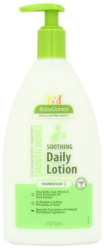 Babyganics Smooth Moves Lotion, Cucumber Aloe. Love this lotion for my babies!