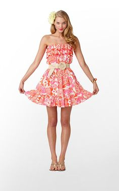 Lilly Pulitzer- Quincy Dress- $188  So adorable! :)